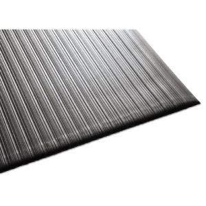 Millennium Mat Company Air Step Antifatigue Mat, Polypropylene, 36 x 60, Black (3 ()