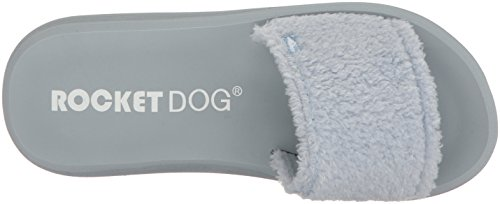 Snow Pale Bunni Dog Flop Blue Rocket Fabric Women's Single Flip 81twnxOTq