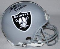 (MARCUS ALLEN Signed LE Raiders Full-Size Authentic Pro-Line Helmet Inscribed