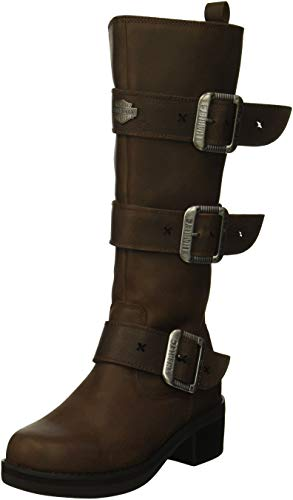 Harley-Davidson Women's Bostwick Fashion Boot, Brown, 07.5 M US (Harley Riding Boots Womens)