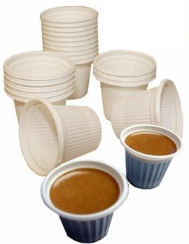 Mini disposable Cuban Style and espresso coffee cups