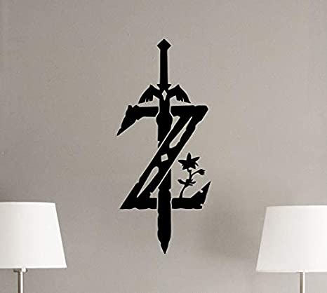 Zelda Tatuajes de pared Leyenda de Zelda Cartel del emblema ...