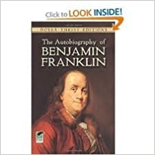 image for The Autobiography of Benjamin Franklin (Dover 3th (third) Edition)