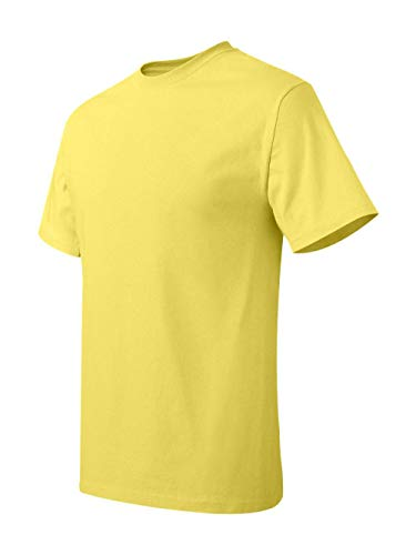 Hanes Tagless T-Shirt, Yellow, XX-Large