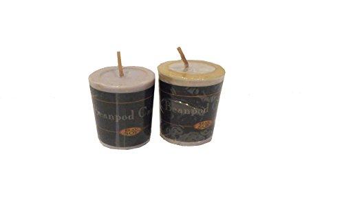 Beanpod Votive Candle - Beanpod Soy Votives, Serenity, Set of 2