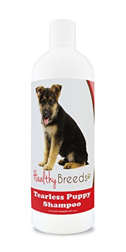Healthy Breeds Puppy Shampoo & Conditioner Tear Free for German Shepherd - OVER 100 BREEDS - Nourishes & Moisturizes for Growth - Safe with Flea and Tick Topicals - 16 oz