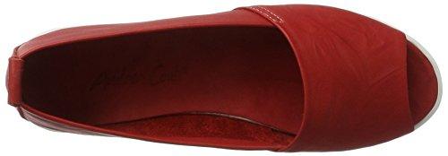 Andrea Conti 0023535, Mocasines para Mujer rojo (rojo)