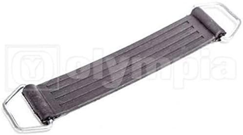 Lanceasy Batteria della Fascia della Cinghia di Gomma Titolare Fisso Bendaggio Elastico Cintura Elastico per Moto