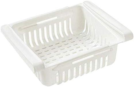 Haushalt K/ühlschrank Partition Layer Durable Storage Rack Obst Gem/üse Halter K/üche Abracing Gem/üse Halter