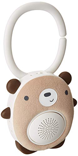 SoundBub, White Noise Machine and Bluetooth Speaker | Portable and Rechargeable On-the-Go Infant Shusher & Baby Sleep Aid Sound Soother by WavHello - Benji the Bear, Brown