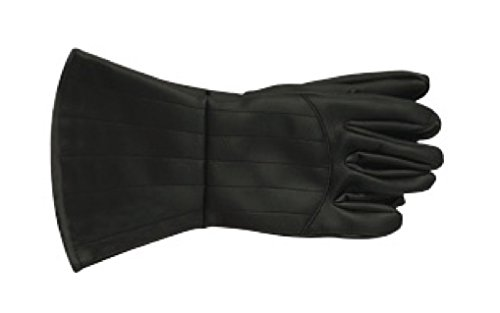 V Of Vendetta Costume (Rubie's Costume Co Men's V For Vendetta Adult Costume Gloves, Black, One Size)