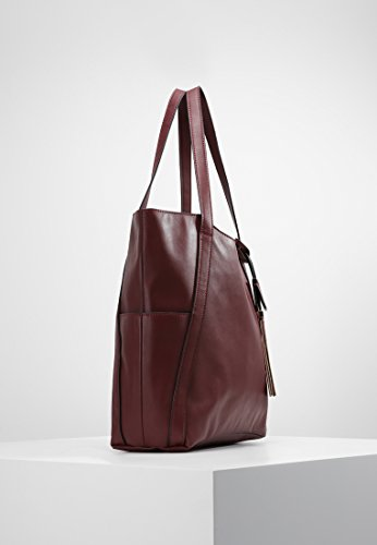 Bold Colours Bordeaux Anna Field Large Shopping Shopper Shoulder Bag for in Synthetic Women Bag Designer Handbag Leather Fashion qPSvxqT4