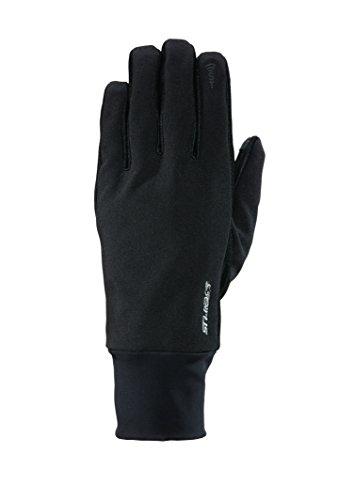 Seirus All Weather Soft Shell (Seirus Innovation Men's Soft Shell Lite Polartec Gloves, Black, Men's Small/Medium)