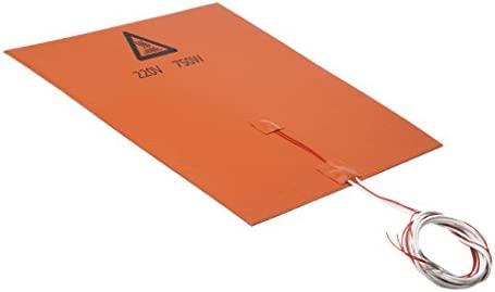 Sharplace Cama de Impresora de Silicona Ventajas de Calentadores Accesorios de Impresora 3D-220V 300 * 300mm 750W