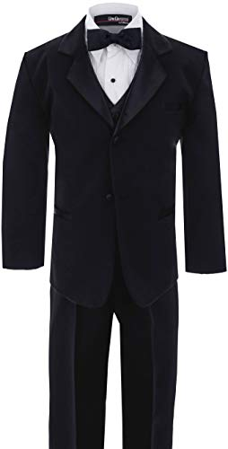 Big Boy's Usher Tuxedo Suit No Tail G210 (10, Black) for $<!--$34.99-->