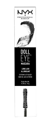 NYX PROFESSIONAL MAKEUP Doll Eye Mascara, Long Lash, Black