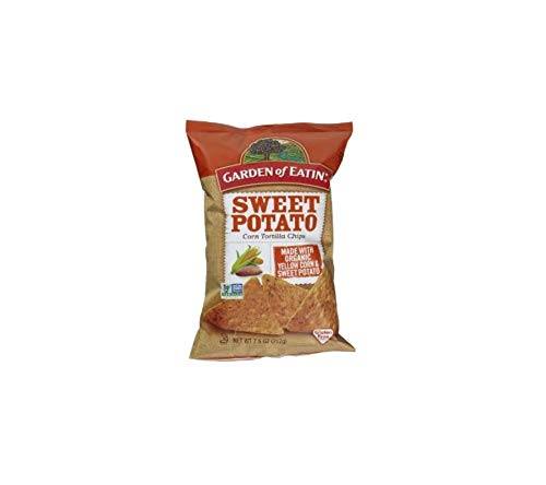 Garden of Eatin' Sweet Potato Corn Tortilla Chips, 7.5 oz(Pack of 2)
