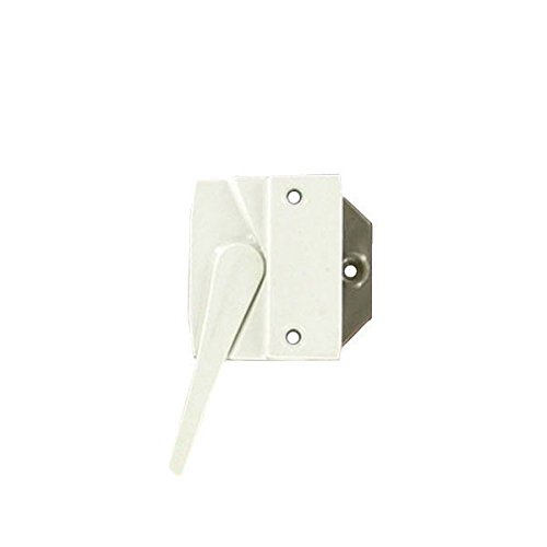 Andersen® #7191-32 Sash Lock & Keeper (Left Hand) in White (1974 to 1995) (Casement Window Sash Lock)