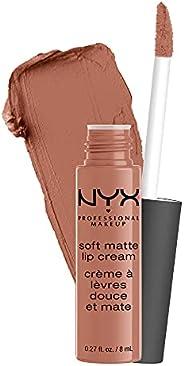 NYX Professional Makeup Soft Matte Lip Cream, High-Pigmented Cream Lipstick, Abu Dhabi, 8 mL