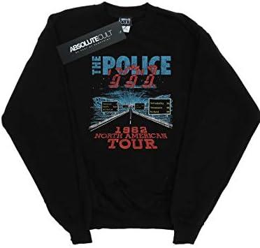 Absolute Cult The Police Herren North American Tour V2 Sweatshirt Schwarz XXXXX-Large