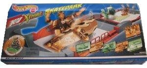 RARE HOT WHEELS X-V XTREME SKATEPARK with Motorized Skateboarder Included. From the makers of the original Sizzlers.