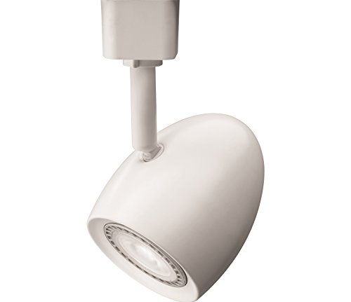 Lithonia Lighting LTHOVAL MR16GU10 LED 27K MW M4 LED Lamp Oval Track Head, Matte White