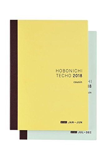 Hobonichi Techo Cousin Avec Book (Japanese/A5/Jan Start/2-Book Set)