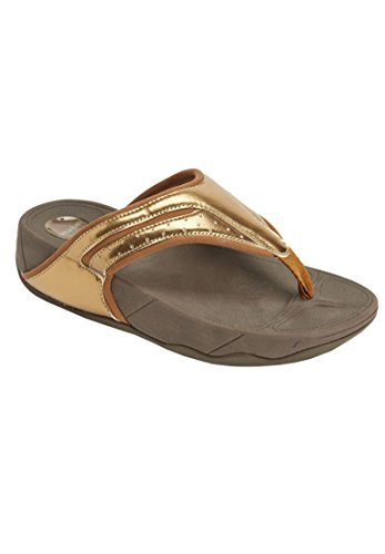 Comfortview Womens Wide Sporty String Sandaal Brons