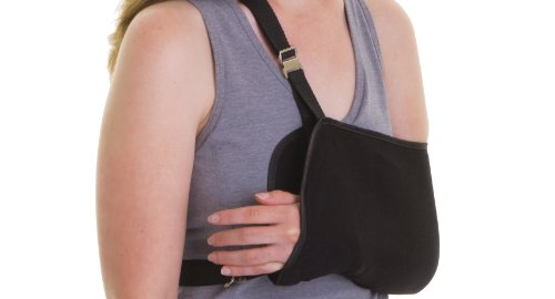 Medline Sling Style Shoulder Immobilizers, Medium