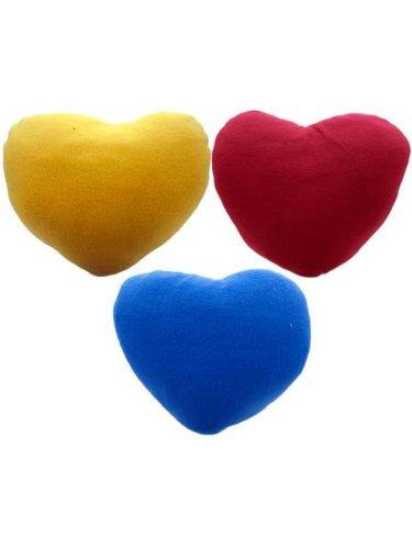 Bulk Buys Home Livingroom Heart Shaped Pillow Assorted Pack Of 9