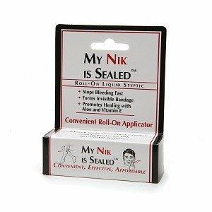 3 Pack of My Nik is Sealed 0.17 oz./5ml