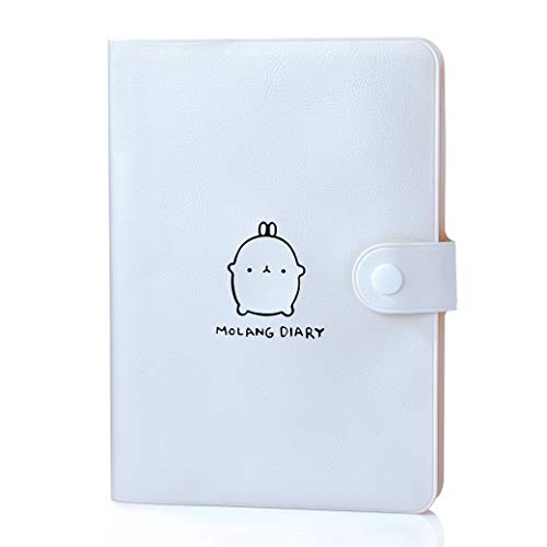 Jevou 2020 Molang Academic Planner, Weekly & Monthly Planner with Calendar Stickers & Buckle, Any Year Scheduler with No Printed Date, 4.5
