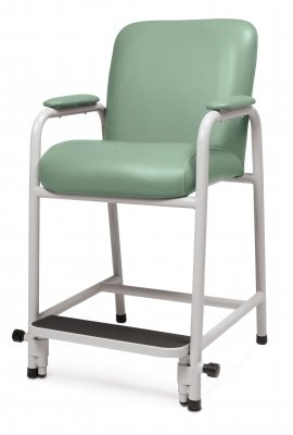 Lumex Everyday Hip Chair Hip Chair with Adjustable Footrest - Jade (857) - GF4405857 by Lumex