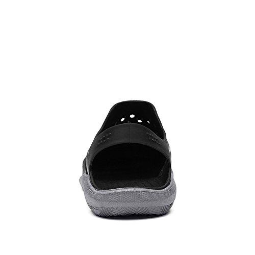 Da Uomo Adulti Grey Canvas Pompe SLIP ONS SCARPE estate nuove taglia 9 EU43