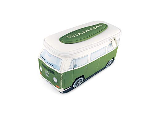 T2 Bus - BRISA VW Collection VW T2 Bus 3D Neoprene Small Universal Bag - Green