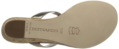 Matrix Bernardo Sandal Women's Platinum Wedge WD OP5Pf