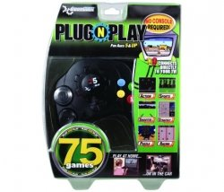 Plug-N-Play Controller with 75 Games - Dreamgear Game Console Console