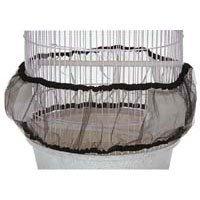 North American Pet 50125063 Guard Seed Nylon Mesh Birdcage Cover, Medium