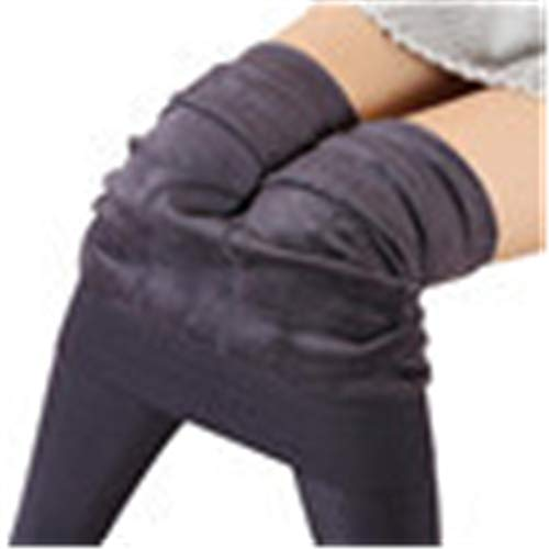 Sunhusing Women's Winter Warm Thickening Pearl Velvet Stepping Leggings Thermal Stretchy Velvet Pants ()