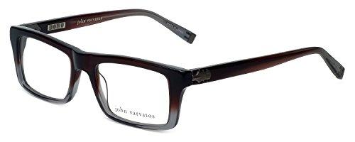 John Varvatos Men's Eyeglasses - V346 Mahogany