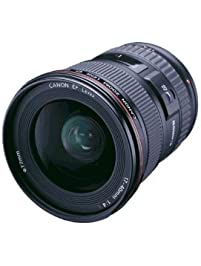 Canon EF 17-40mm f/4L USM Ultra Wide Angle Zoom Lens for Canon SLR Cameras, Black - 8806A002