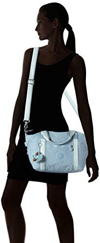 Pastel S C Blue Blue Handbag Kipling Women's Art UHnXa8