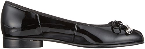 Gabor Dames Basic Gesloten Flat Black (zwart)