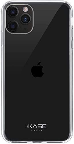 THE KASE Coque Hybride Invisible pour Apple iPhone 11 Pro Max, Transparent