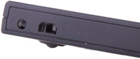 Gazechimp SATA to USB External Enclosure Caddy Case for 9.5mm Laptop CD-ROM DVD-RW Drive