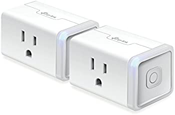 2-Pack TP-Link Kasa Wi-Fi Smart Plug Slim Edition