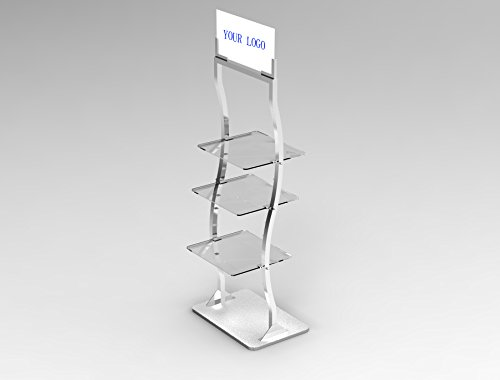 Fixture Displays Retail Display Rack Shelves Floor Stand Clothing Health Beauty Products Display 19420! by FixtureDisplays
