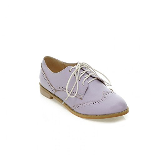 Oxfords Purple Casual Shoes Up Carol Lace Womens WxgSnXq7
