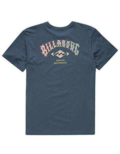 - Billabong Kids Boy's Arch T-Shirt (Big Kids) Navy Large