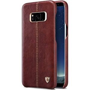 timeless design 42de6 fb39b Gozmos Leather Back Cover for Samsung Galaxy S8 Plus: Amazon.in ...